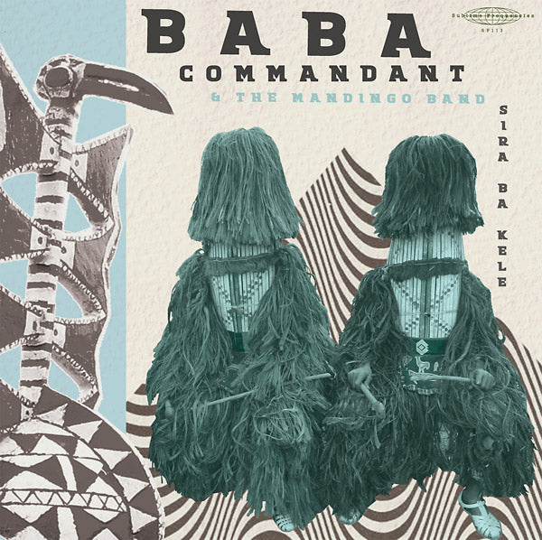 "Selectshop FRAME - FRAME MUSIC Baba Commandant And The Mandingo Band: ""Siri Ba Kele"" LP Vinyl Record Dubai"