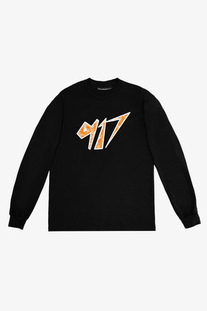 Selectshop FRAME - CALL ME 917 Space Long Sleeve T-Shirts Dubai