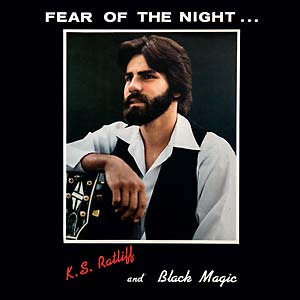 "Selectshop FRAME - FRAME MUSIC K.S. Ratliff and Black Magic: ""Fear of the Night"" LP Vinyl Record Dubai"