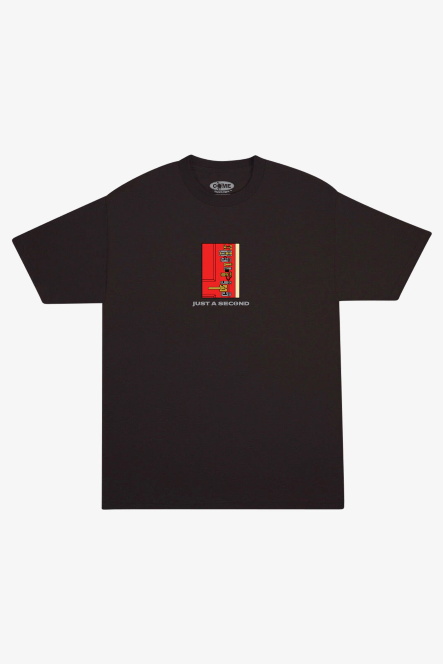 Selectshop FRAME - COME SUNDOWN Locked Embroidery Tee T-Shirts Dubai