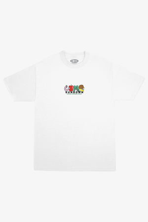 Selectshop FRAME - COME SUNDOWN Growers Embroidery Tee T-Shirts Dubai