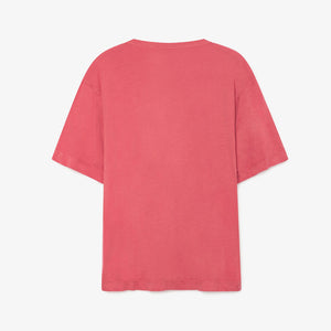 Red Shells Rooster Oversized T-Shirt