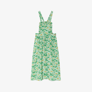 Green Daises Cow Dress