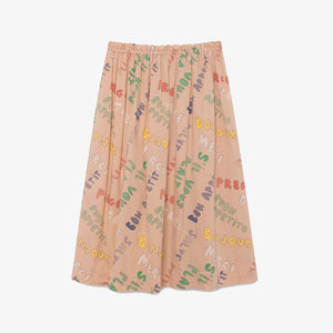 Words Blowfish Skirt
