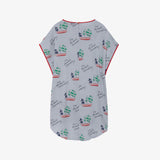 Selectshop FRAME - THE ANIMAL OBSERVATORY Blue Ships Hummingbird Dress Kids Dubai