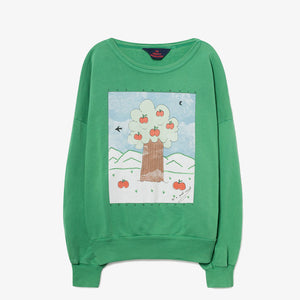 Green Landscape Big Bear Sweatshirt