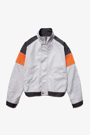 Selectshop FRAME - AFFIX Tri-Color Work Jacket Outerwear Dubai