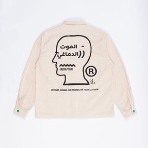 Selectshop FRAME - BRAIN DEAD Sole DXB Youth Extension Canvas Chore Jacket Outerwear Dubai