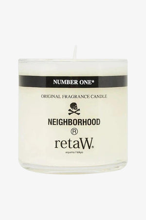 "Selectshop FRAME - NEIGHBORHOOD retaW ""Number One"" Aroma Candle Lifestyle Dubai"