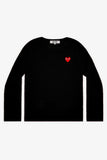 Selectshop FRAME - COMME DES GARCONS PLAY Red Heart Crewneck Jumper Sweatshirts Dubai