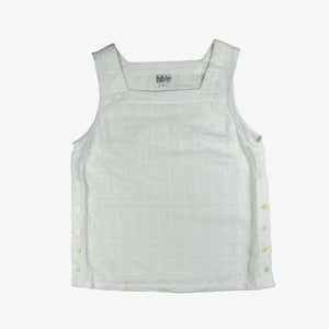 Selectshop FRAME - ENGINEERED GARMENTS Square Neck Horizontal Jacquard Top Topwear Dubai
