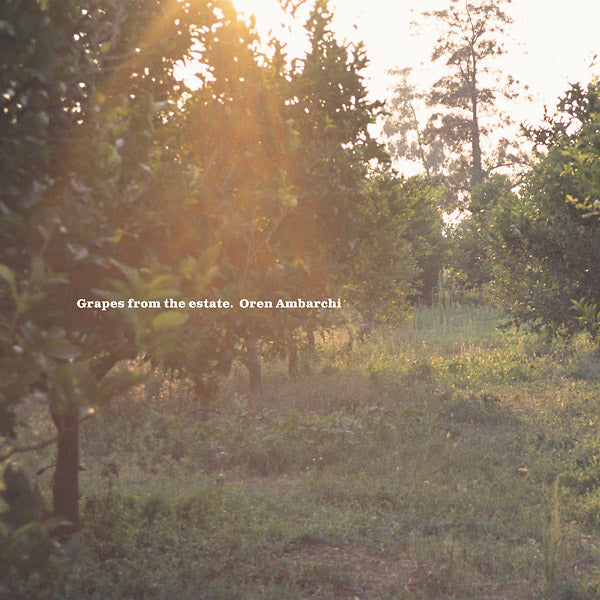 "Selectshop FRAME - FRAME MUSIC Oren Ambarchi: ""Grapes From The Estate"" 2LP Vinyl Record Dubai"