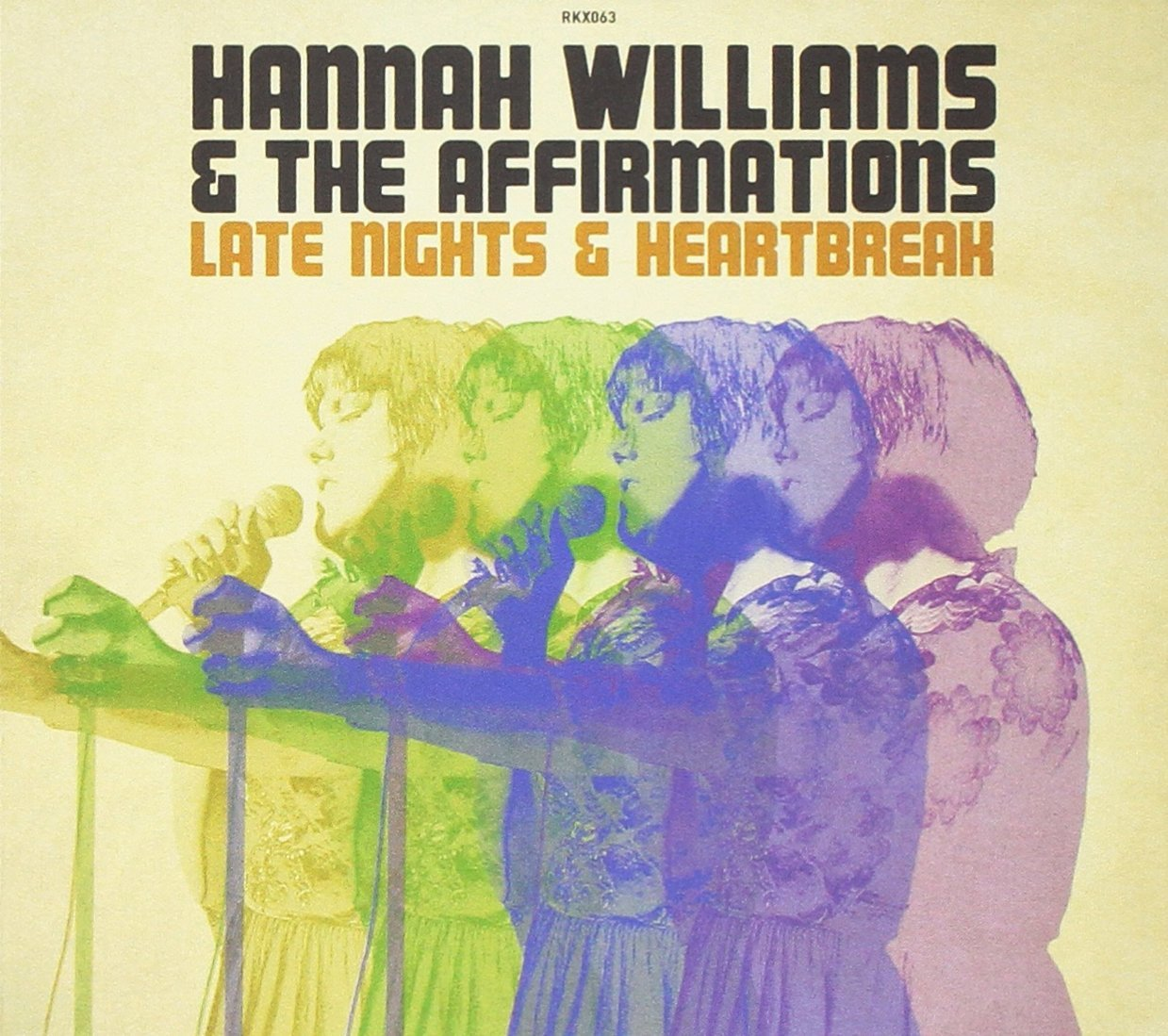 "Selectshop FRAME - FRAME MUSIC Hannah Williams & The Affirmations: ""Late Nights & Heartbreak"" LP Vinyl Record Dubai"