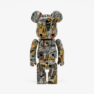 "FRAME - MEDICOM TOY Super Alloyed ""Jean-Michel Basquiat"" Be@rbrick 200%"