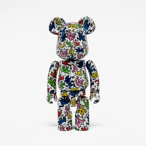 "FRAME - MEDICOM TOY Super Alloyed ""Keith Haring"" Be@rbrick 200%"
