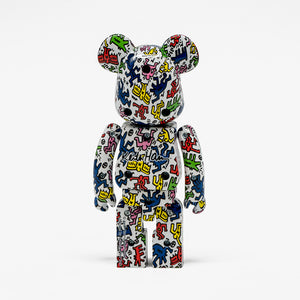 "Super Alloyed ""Keith Haring"" Be@rbrick"