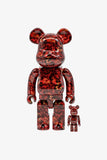 "Selectshop FRAME - MEDICOM TOY Mika Ninagawa ""Leather Rose"" Be@rbrick 400%+100% Toys Dubai"