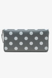 Printed Polka Dots Long Wallet (SA0110PD)