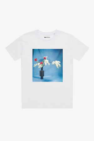 Selectshop FRAME - IDEA Ikebana Red Tulips T-Shirt Dubai