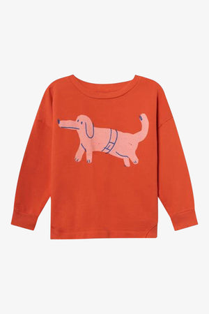 Selectshop FRAME - BOBO CHOSES Paul's Dog Round Neck Sweatshirt Kids Dubai