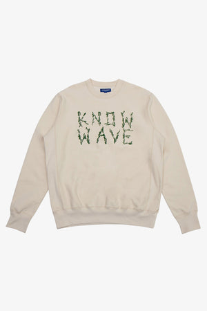 Selectshop FRAME - KNOW WAVE Branches Crewneck Sweatshirts Dubai