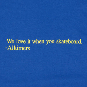 Selectshop FRAME - ALLTIMERS Love It Tee T-Shirt Dubai