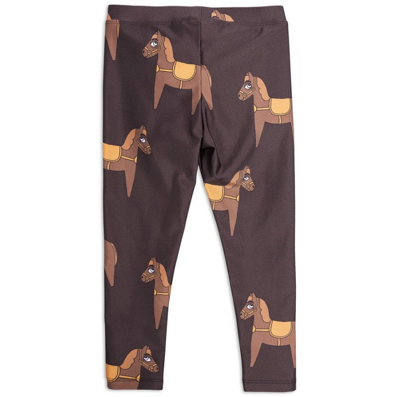 Selectshop FRAME - MINI RODINI Horse Fancy Leggings Kids Dubai