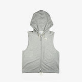 Selectshop FRAME - ENGINEERED GARMENTS French Terry Knit Hoodie Vest Outerwear Dubai