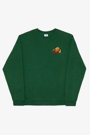 Selectshop FRAME - ALLTIMERS Monsta Crewneck Green Sweatshirt Dubai