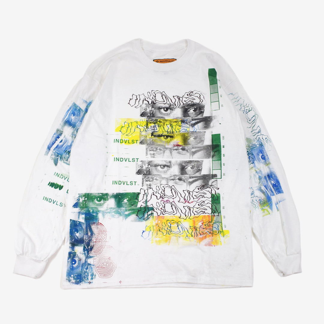 FRAME - INDVLST Volume One Pt.2 Kit : Visions White Long Sleeve
