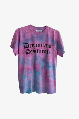 FRAME - DREAMLAND SYNDICATE Raincloud Tie-dye T-Shirt