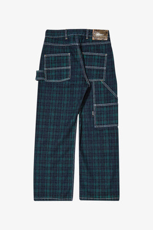 Selectshop FRAME - RASSVET Check Denim Work-Pants Bottoms Dubai
