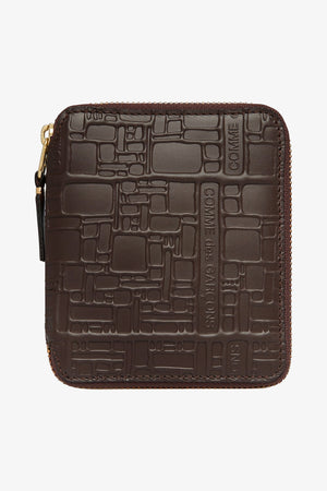 Selectshop FRAME - COMME DES GARCONS WALLETS Logotype Wallet (SA2100EL) Accessories Dubai