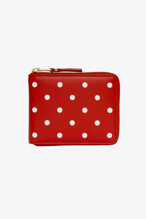 Polka Dot Leather Wallet (SA7100PD)