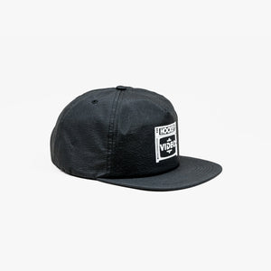 FRAME - Budget Video Snapback Black