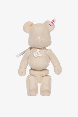 Steiff White Be@rbrick 400%