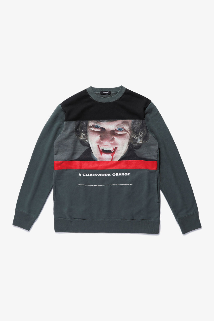 Selectshop FRAME - UNDERCOVER Clockwork Orange Printed Sweatshirt Sweatshirt Dubai