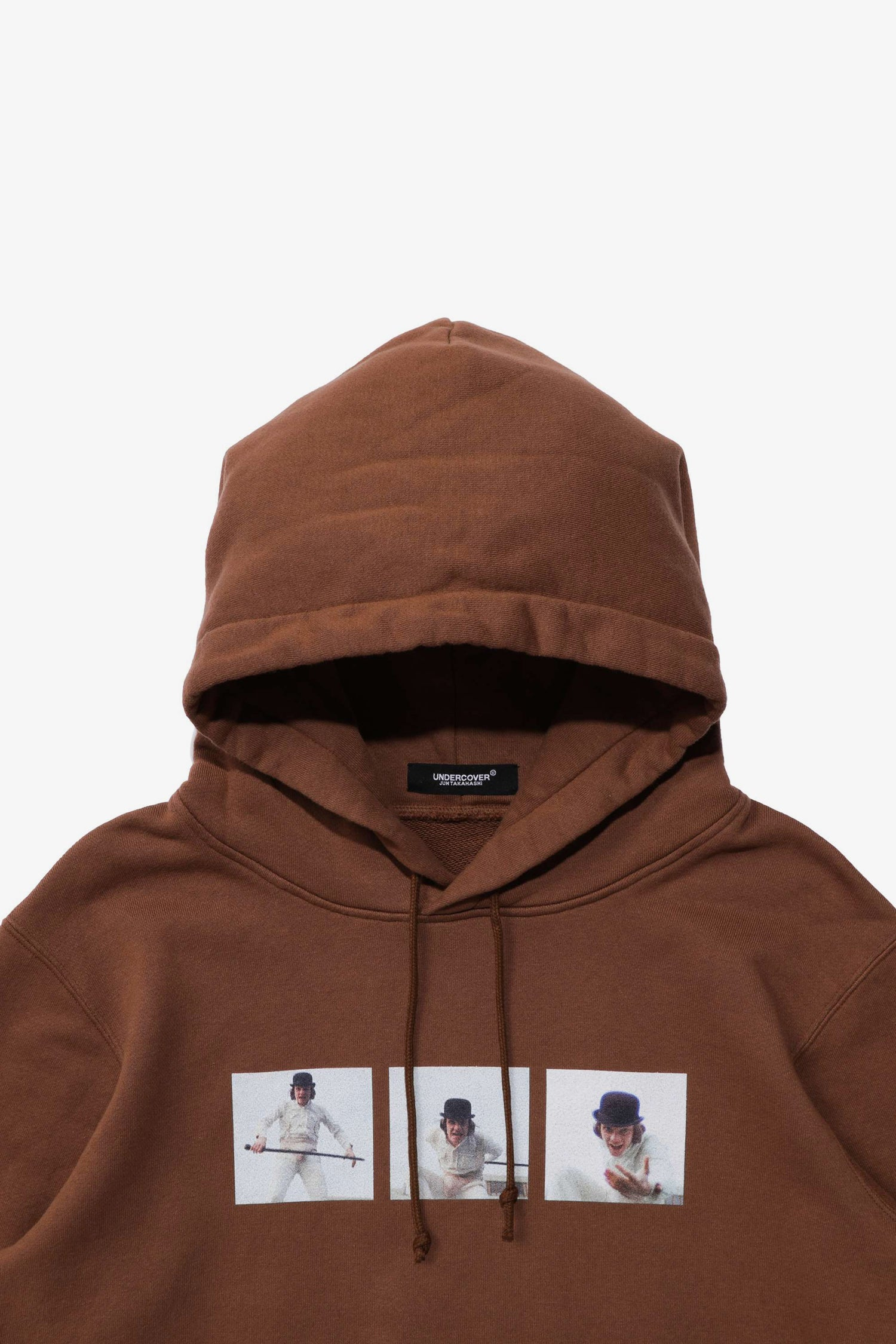 Selectshop FRAME - UNDERCOVER Clockwork Orange Printed Hoodie Sweatshirt Dubai