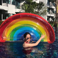 Rainbow Pool Floatie