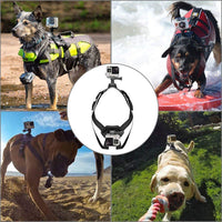 Camera Dog Harness Chest Strap (for GoPro 7,5,6,4 / SJCAM / SJ4000 / Xiaomi Yi 4K / H9 Action Camera)
