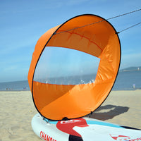Foldable Wind Sail Kit - Kayak, Boat, Paddle Board, Canoe