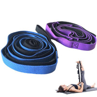 Two Advanced Yoga Straps for stretching or Aerial Yoga Swing - 2m/6.6ft