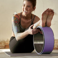 Integrity Yoga Wheel: Stretching, Balance and Flexibility
