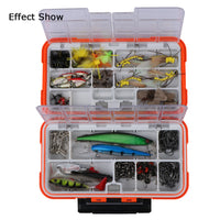 Resistant Fishing Tackle Boxes - Double Layer with 30 Compartments