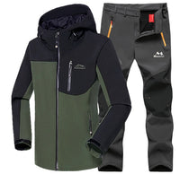Winter Waterproof Fishing Jacket + Pants Set