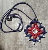Red, White and Blue Compass Rose