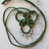 Green Celtic Knotted Knot