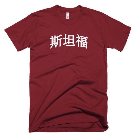Stanford Tee in Chinese