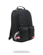 Sprayground Double Cargo Side Shark Backpack Black