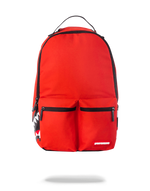 Sprayground Double Cargo Side Shark Backpack Red